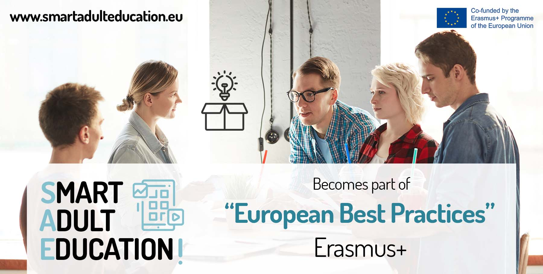 Smart Adult Education becomes part of Erasmus+'s European Best Practices